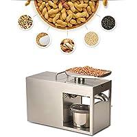 IDABAY Máquina de Prensa de Aceite Doméstica Extractor de Aceite en Caliente y frío Funciona Constante