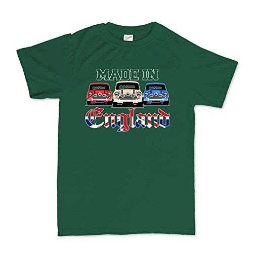 Classic Austin Mini MK1 MK2 Car Made In England T-shirt