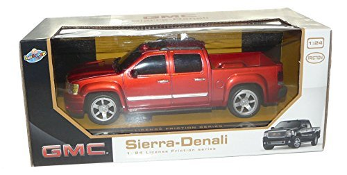 gmc-sierra-denali-pickup-truck-124-friction-series-red-by-lollipop-toys