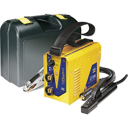 GYS - Gysmi 130P - Poste à Souder - inverter - MMA - Ø 1, 6 à 3, 2 mm - 230 V - Livré avec cables de masse et Porte Électrodes en Valise
