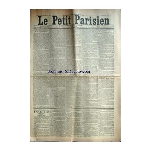 PETIT PARISIEN (LE) [No 6433] du 08/06/1894 - EN CRIMEE LA QUESTION BUDGETAIRE CONSEIL DES MINISTRES LES DROITS DE LA FRANCE ASSASSINAT D'UN MAIRE DRAME DE LA MISERE A CLICHY P-¼LOTTE