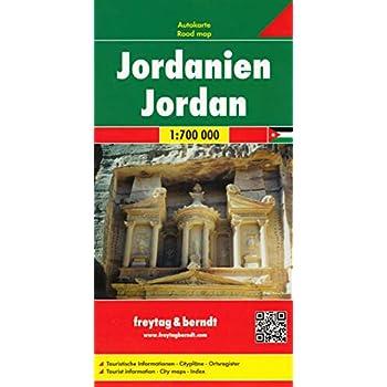 Jordanie : 1/700 000