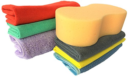 ultimate-car-cleaning-microfibre-cloth-kit-for-valeting-of-all-vehicles-boats-motorbikes-by-dunindus