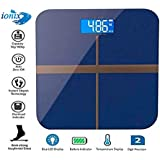KATA Electronic Thick Tempered Glass & LCD Display Square Electronic Digital Personal Bathroom Health Body Weight Weighing Scale, weight scale digital, weight scale for human body,Digital scale