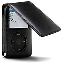 160GB iPod Classic Synthetic PU Leather Flip Case & Belt Clip For Apple iPod Classic (Ipod Classic Cover)