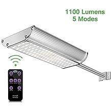 Luces Solares LED Exterior con Sensor Movimiento,Lacyie 70LED Lámpara Solares Exterior Jardín con Mando