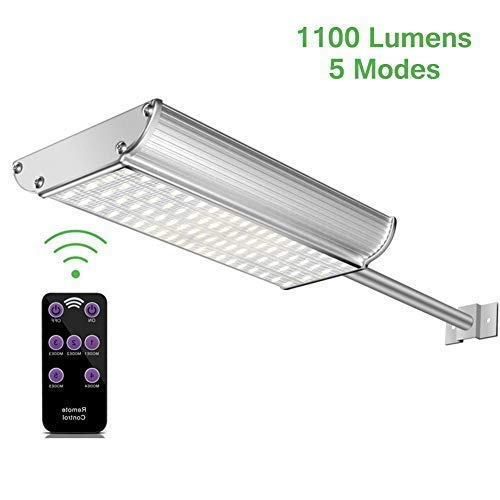 Luces Solares LED Exterior con Sensor Movimiento,Lacyie 70LED Pared Lámparas Solares Exterior...