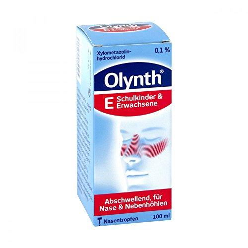 Olynth E Nasentropfen bei Schnupfen, 100 ml Lösung