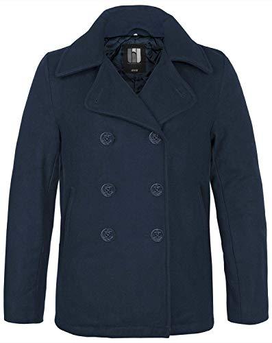 BW-ONLINE-SHOP Navy PEA Coat Wintermantel Jacke, Gr. 3XL, blau
