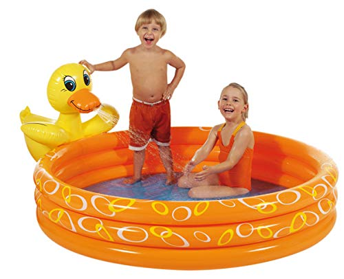 Royalbeach Planschbecken Splash Pool Ente Durchm 150 cm, 10185