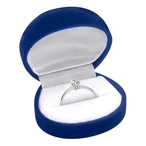 Hochwertiger Unique Verlobungsring aus 925 Silber mit Zirkonia VR0013 - 5
