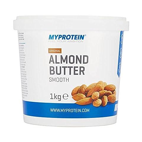 MyProtein Almond Butter Crunchy - Tub - 1kg