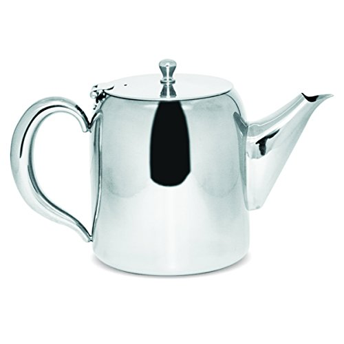 Sabichi Classic Stainless Steel Teapot 1900ml Concierge Collection, Silver, 1900 ml