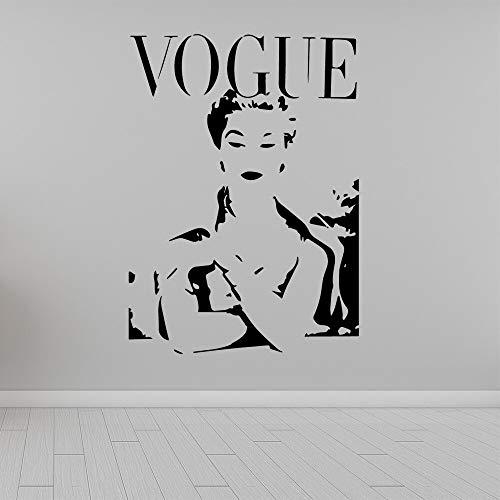 Dessin Animé De Mode Logo Sticker Muraux stickers muraux Vinyle Étanche Mur Art Decal Décorations Murales Salon Autocollant Mural 58 * 76 cm