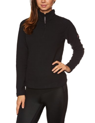 berghaus Damen Fleece Arnside Jacket H-Zip AF Half, Black, 44 Womens Half Jacket