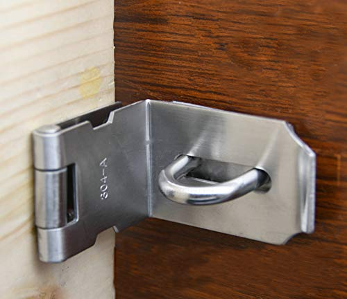 Heavy Padlock Hasp Duty,Door Hasp Latch 90 Degree, for sale  Delivered anywhere in UK