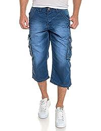 BLZ jeans - Pantacourt jean délavé multi poches