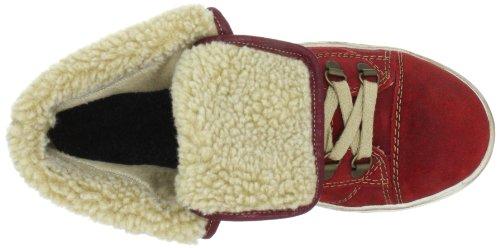 Rieker Kinder Rieker Teens K1981 Mädchen Sneaker Rot (mohn/beige 33)