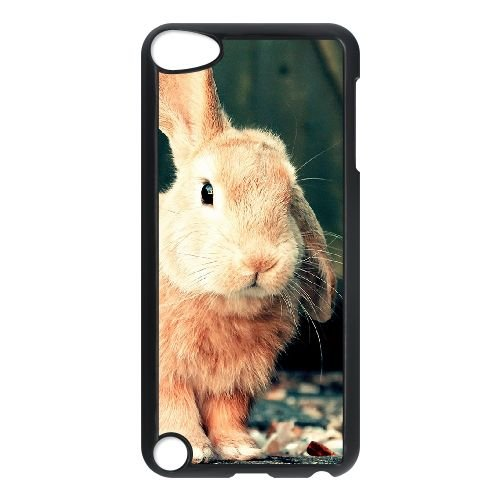 TOPDIY Custom Phone Case for Ipod Touch 5 with Bunny Complex