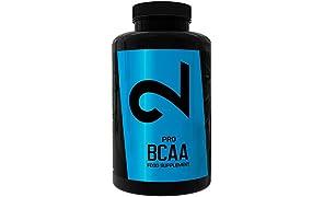 Dual Pro BCAA | 100% Puri BCAA | Qualità Premium: Certificato Nei Laboratori| Aminoacidi | 300 Compresse | Vegani, senza glutine e senza lattosio | 5 mesi di utilizzo | Fabbricate in UE