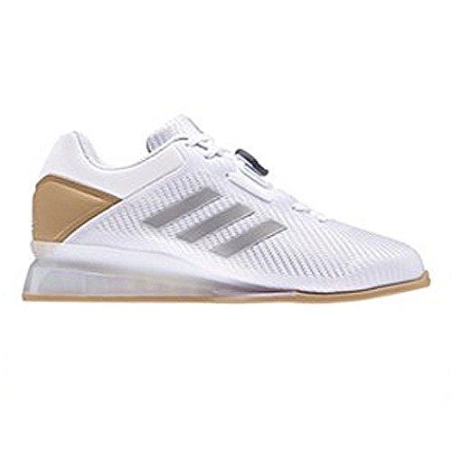 adidas Performance 16 II Gewichtheberschuhe SS18, Weiß - weiß - Größe: 37 1/3 EU
