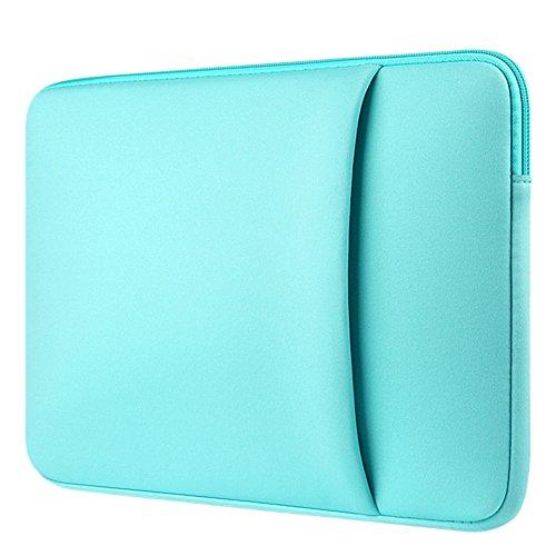 Custodia Protettiva Sleeve Case Borsetta per Laptop / Notebook / Macbook Air / Macbook Pro / Macbook Pro Retina Menta verde 2 15.6 Pollici