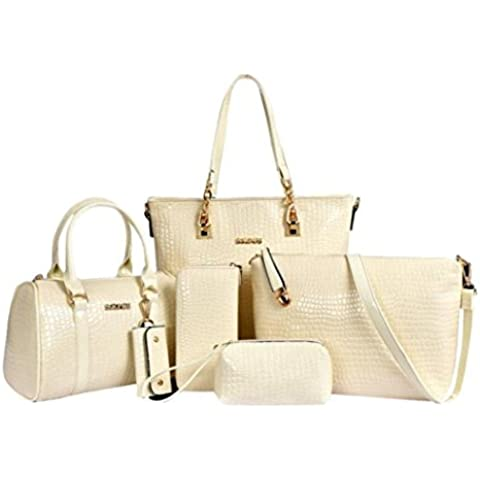 Lacaca Women Handbag-Borsa a tracolla in pelle da donna con