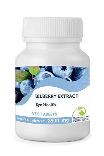 Heidelbeere Extrakt Augen Gesundheit Antioxidant 120mg 30/60/ 90/120/180/250 Veg Tabletten Pillen Nahrungs Ergänzung Ernährung Anthocyanidins Schwarz Beeren Großbritannien Qualität in Bottlles Gesund -