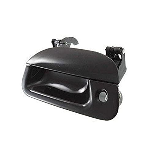 1997-2007 Ford F150 F250 F350 F450, Explorer Sport Trac Smooth Black With Tail Gate Lock Outside Tailgate Door Handle (1997 97 1998 98 1999 99 2000 00 2001 01 2002 02 2003 03 2004 04 2005 05 2006 06 2007 07) by Aftermarket Auto Parts