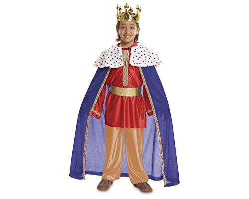 Imagen de my other me  disfraz de rey mago, talla 3 4 años, color rojo viving costumes mom00464