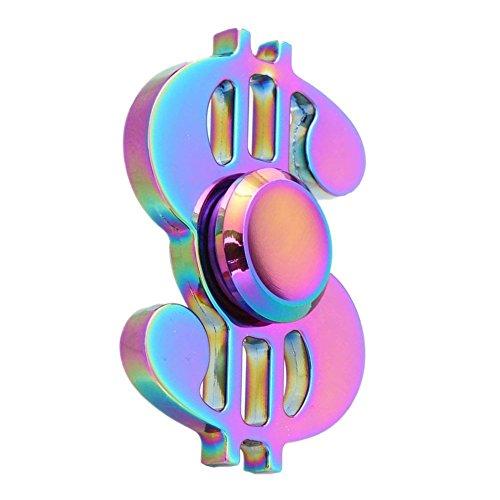 Preisvergleich Produktbild Nibesser Fidget Spinner Fidget Toys Hand Spinner Finger Spielzeug für Kinder und Erwachsene (Dollar 2)