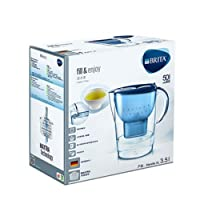 BRITA Marella XL Water Filter Jug, 3.5 L - Blue