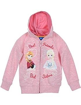 LA Reine des Neiges Disney Frozen Niña Sudadera con capucha
