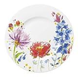 Villeroy & Boch 10-4444-2650 Assiette Plate Porcelaine Rouge 22 x 23 x 7 cm Convient pour 1Personne