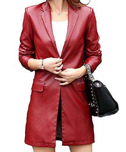 helan-femmes-simple-long-seul-bouton-en-cuir-pu-manteau-blouson-en-cuir-rouge-eu-40