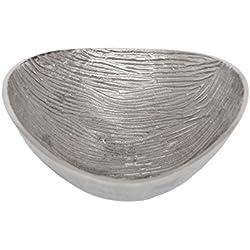 Bandeja de metal de decoración de mesa de centro