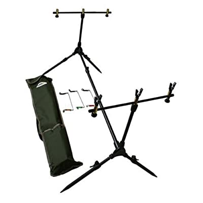 Carp Coarse Rod Pod Complete With 3 Swingers And Rod Rest from NGT
