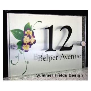 House Signs - SUMMER FIELDS Designer Style | 2 Part 10 Year Guarantee Acrylic Sign