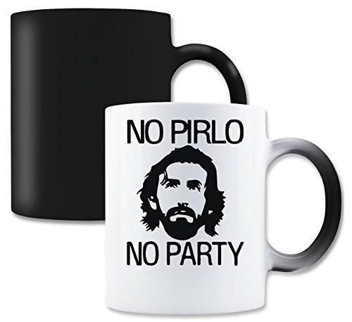 LukeTee No Pirlo No Party Magische Tee-Kaffeetasse