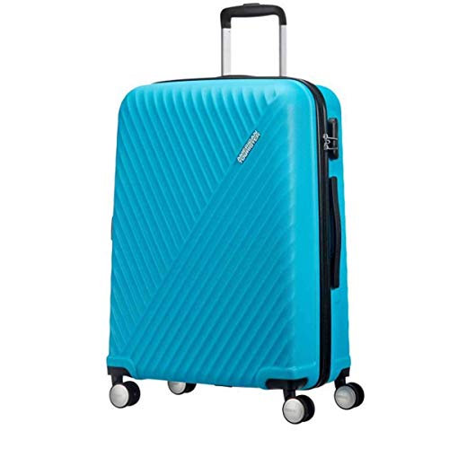 Trolley Cabina American Tourister Visby 4 Ruote Light Blue