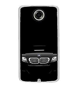Fuson Designer Back Case Cover for Motorola Nexus 6 :: Motorola Nexus X :: Motorola Moto X Pro :: Google Nexus 6 (Car Black Car Super Car Lovely white Car In Dark)