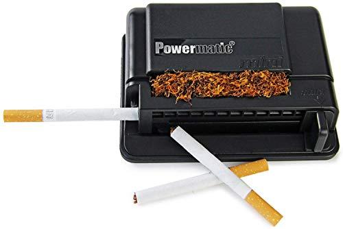 M&M MM 16940Powermatic Mini-Máquina para Liar Cigarrillos, de plástico, en Color Negro, 10x 10x 5cm