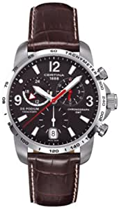 CERTINA - Montre Homme - DS PODIUM BIG SIZE CHRONO GMT - Ref. C0016391605700