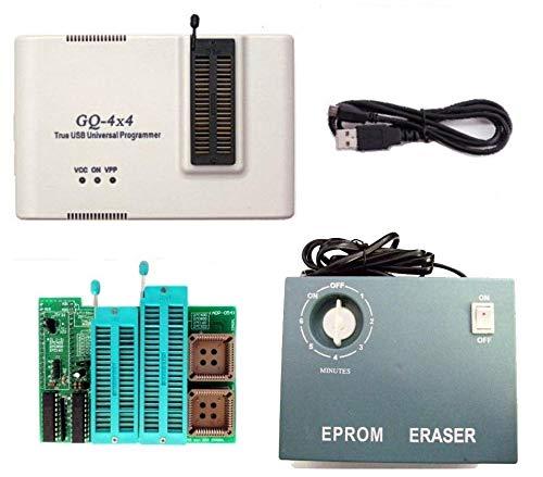 GQ prg-113gq-4X V4(gq-4X 4) Universal USB Programmierer + UV-Eprom Radierer + 16Bit EPROM Adapter Unterstützung 2827F102C40027C80027C16027C32227C102427C204827C409627 045m27C322 - Eprom Uv