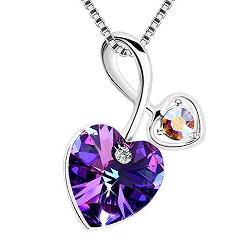 plato-h-dames-collier-brave-coeur-avec-fleche-cupidon-swarovski-elements-cristal-violet-amour-penden