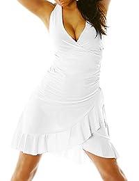 Miniabito abito donna vestitino ballo latino salsa merengue dress danza  LI-1490 3388ffac278