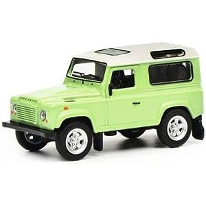 Schuco 452018100 452018100-Land Rover Defender - Maqueta de Coche (Escala 1:64), Color Verde