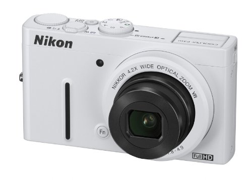 Nikon Coolpix P310 Digitalkamera (16 Megapixel, 4-Fach Opt. Zoom, 7,5 cm (3 Zoll Display), bildstabilisiert) weiß