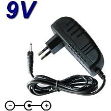 Top cargador® Adaptador alimentación cargador 9V para Cefar Compex SP 2.0