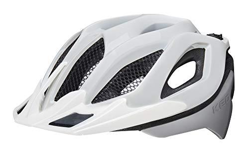 KED Spiri Two Helmet White Silver Kopfumfang M   52-58cm 2019 Fahrradhelm